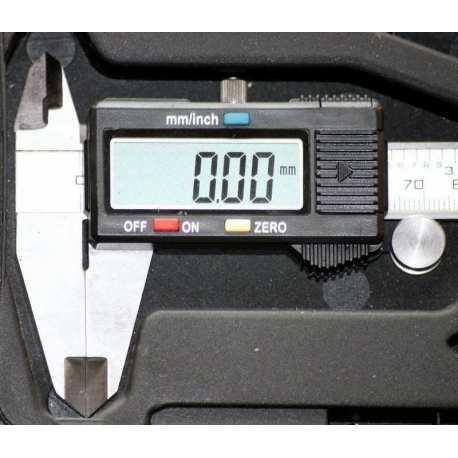 Pied à coulisse maxi 150mm précision 0.01mm numérique digital