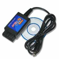 Interface diagnostique USB OBD2 OPEL Tech2