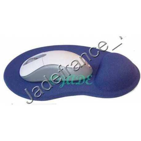 Tapis souris gel de silicone Bleu