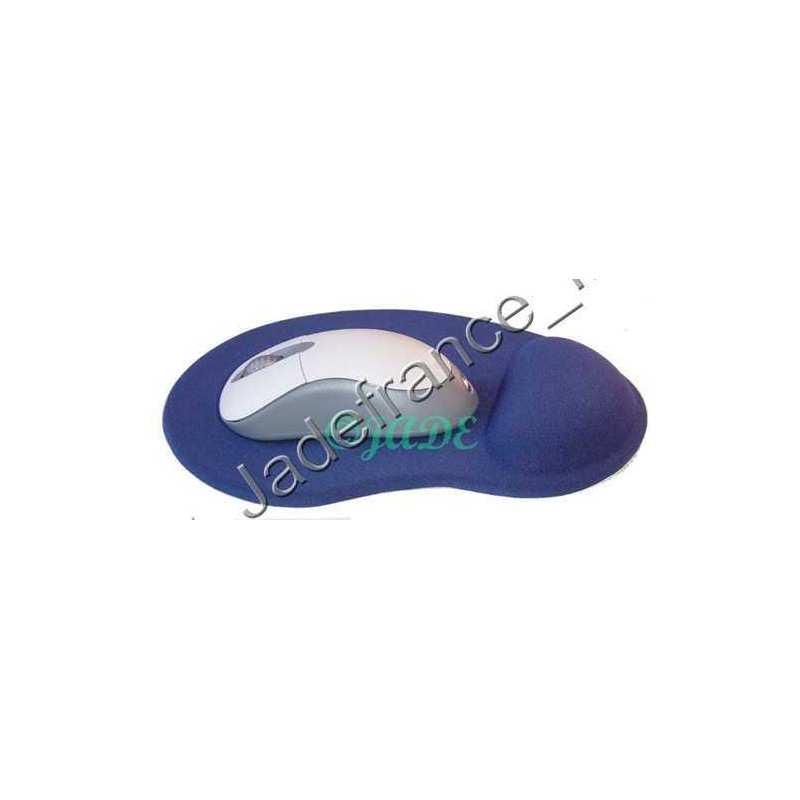 tapis souris bleu gel de silicone