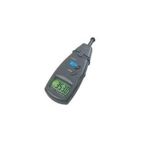 Tachymètre Laser et contact DT6236B 0.5 à 99 999 tours / mn