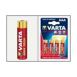 Blister 4 Piles VARTA MAXTECH LR03 AAA
