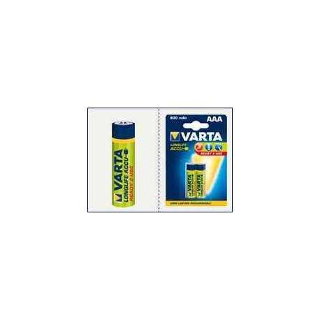 Blister 4 ACCU VARTA Longlife 800mah LR06 AA