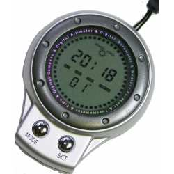 Altimètre bousole baromètre thermomètre Heure prévision météo