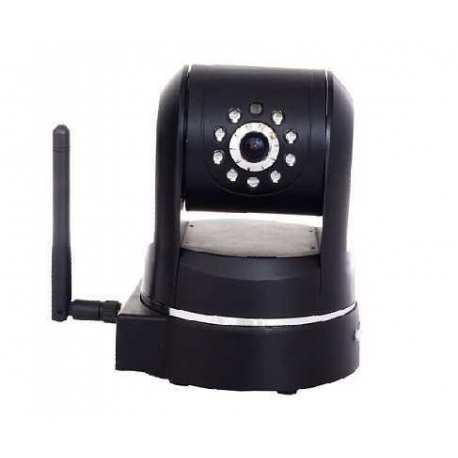 Caméra motorisé IP jour nuit WIFI Noir compatible iphone android