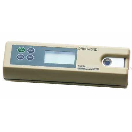Réfractomètre digital numérique 0 à 45 brix