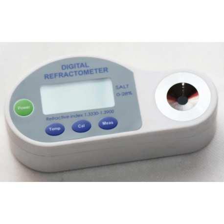 Réfractomètre digital numérique 0 à 28% Sel