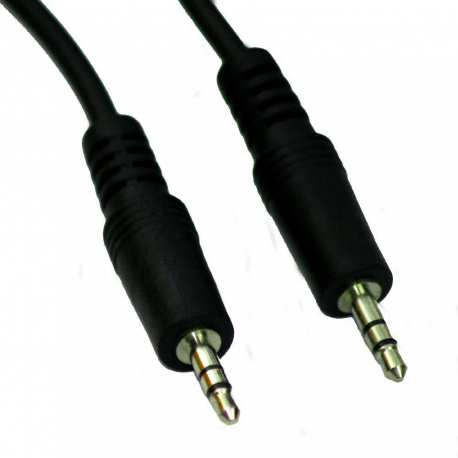 Câble Audio Male 3.5mm Stéréo od4.0mm 1.5 mètres