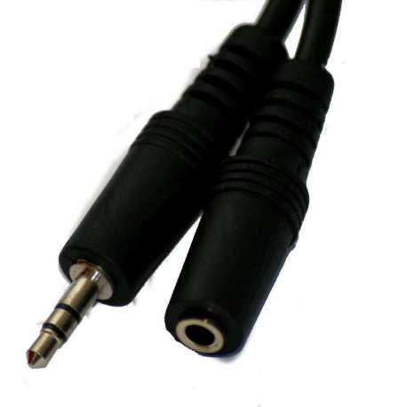Câble Audio Male 3.5mm Stéréo od4.0mm 3 mètres