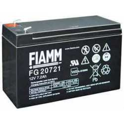 Batterie plomb FIAMM 12V 7.2 Ah FG20721