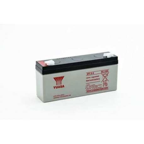 Batterie YUASA 6 V 2.8AH NP2.8-6