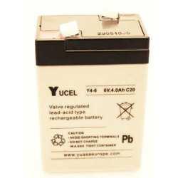 Batterie YUCEL 6 V 4AH C20