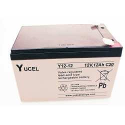 Batterie YUCEL 12 V 12AH Y12-12