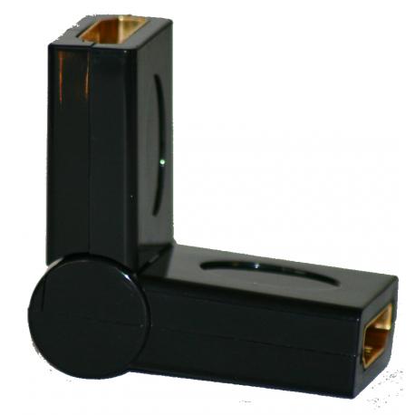 Adaptateur HDMI Femelle Femelle rotation 180°