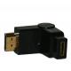 Adaptateur HDMI Mâle mini HDMI Femelle rotation 180°