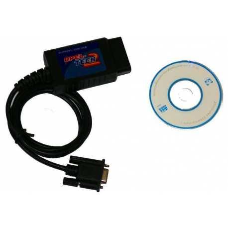 Interface diagnostique RS232 OBD2 OPEL Tech2
