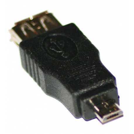 Connecteur USB 2.0 A Femelle B mini 4 pin Mâle