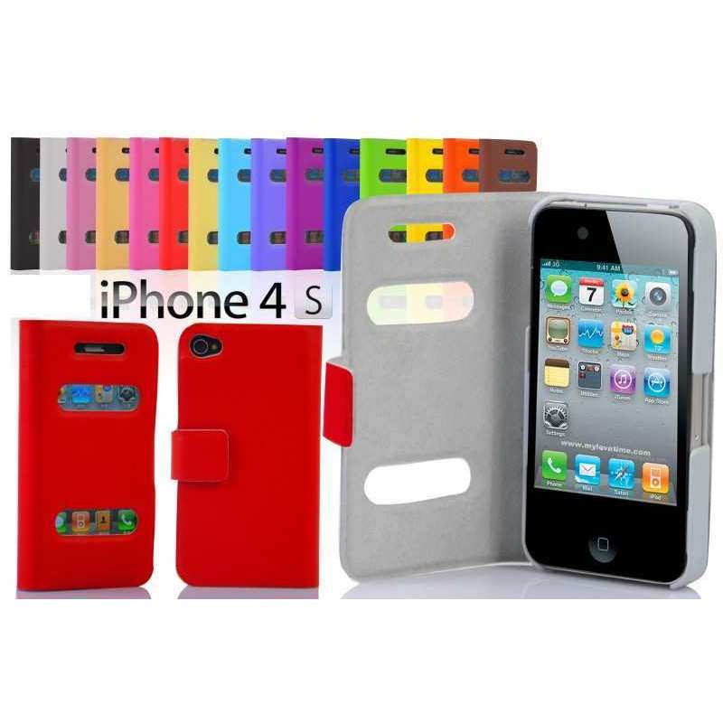 Housse de protection apple iphone 4 for Housse iphone 4 cuir