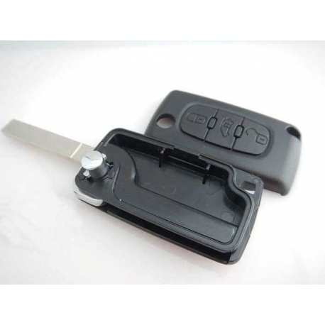 Coque clé télécomande Plip Citroën C2 C3 C4 C5 C6 Peugeot 207 307 308 407 CE523