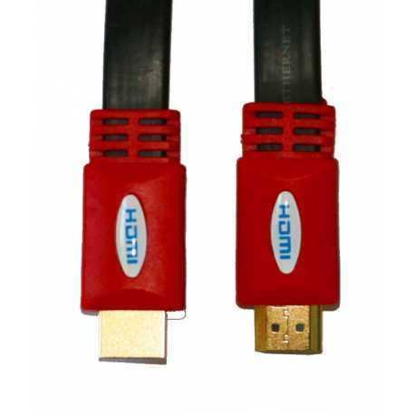 Câble HDMI mâle à HDMI mâle Plat 3 mètres JL1208