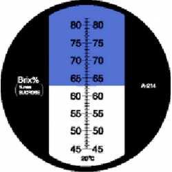 Réfractomètre sucre RHB82 ATC