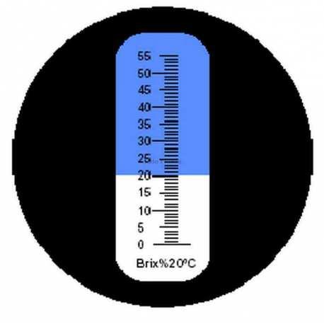 Réfractomètre sucre RHB55 ATC