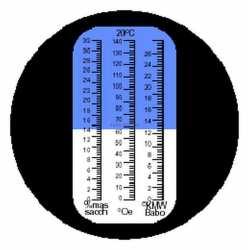 Réfractomètre sucre RHB32 K ATC