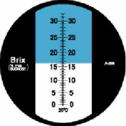 Réfractomètre sucre RHB32 ATC