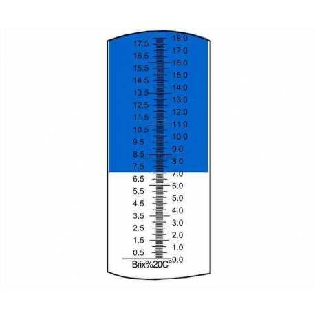 Réfractomètre sucre RHB18 ATC