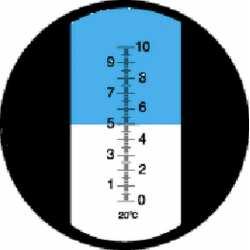 Réfractomètre sucre RHB10 ATC