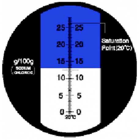 Réfractomètre Sel RHS 28 ATC