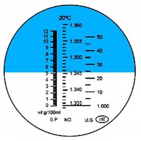 Réfractomètre Protéine Urine RFM500ATC