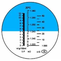 Réfractomètre Protéine RHC200ATC