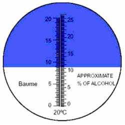 Réfractomètre Alcool RHW25 ATC Be