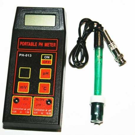 PH mètre professionnel portable ATC PH-013