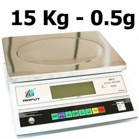 Balance de precision 15 000g 0.5g APTM418