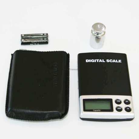 Balance de poche 1000 gr 0.1 avec poids 100g étalon