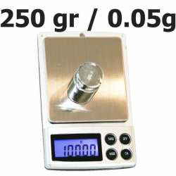 Balance de poche 250 gr 0.05 pocket scale