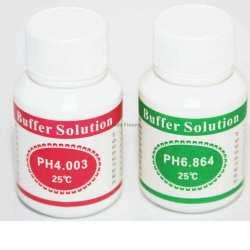 2 Sachets de solutions de calibrage PH mètre PH4.00 PH6.86