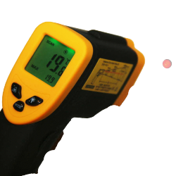 Thermomètre Infrarouge à visée laser -50°C à +380°C