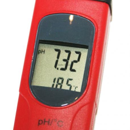 PH Mètre Avec solution et Température ATC PH900III