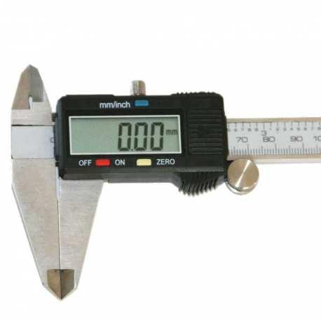 Pied à coulisse 200mm précision 0.01mm numérique digital