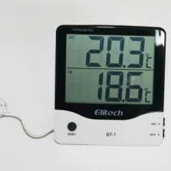Thermomètre intérieur extérieur sonde filaire 3 Mètres