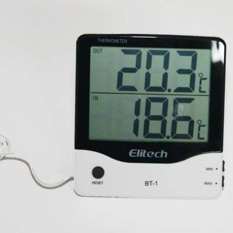 thermomètre intérieur extérieur, filaire sonde 3 mètres