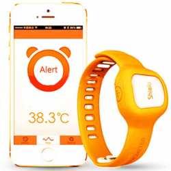 Thermomètre bébé sans fil pour smartphone Android ou IOS