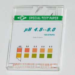 special test paper Ph 4.5 to 9 100 trips