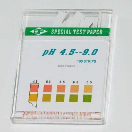 PH testeur Papier ph 4.5 à 9 PH 100 bandelettes