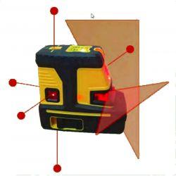 Niveau laser Croix et points, 7 faisceaux