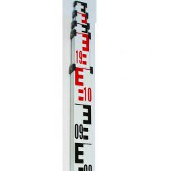 Mire de 5 mètres télescopique Aluminium YC-F2B9