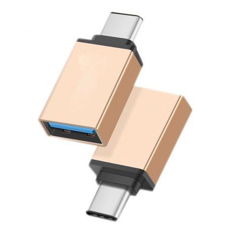 Usb 3.1 Usb Type C À Connecteur Micro-usb femelle blanc